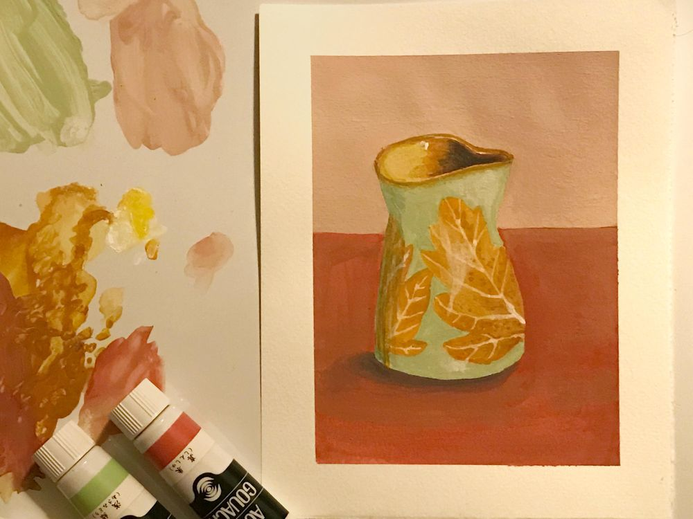 Adventures in Gouache for real - image 5 - student project