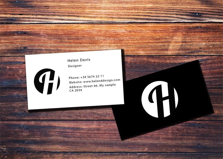 Business Card practice - image 1 - student project