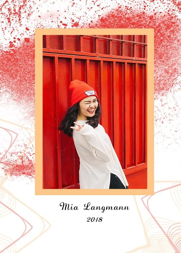 Graduation card - image 1 - student project