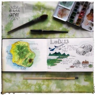 Sketchbook photography for Instagram - image 4 - student project