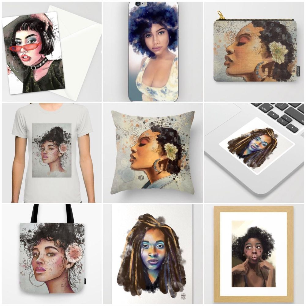 Society6 revamped - image 1 - student project