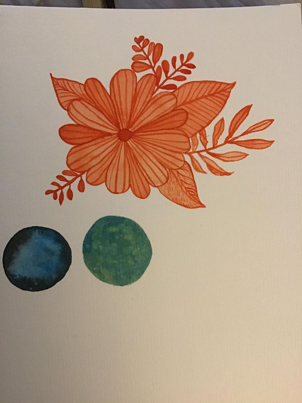 Beginning watercolor - image 1 - student project