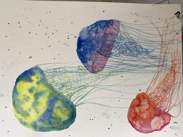 Beginning watercolor - image 2 - student project