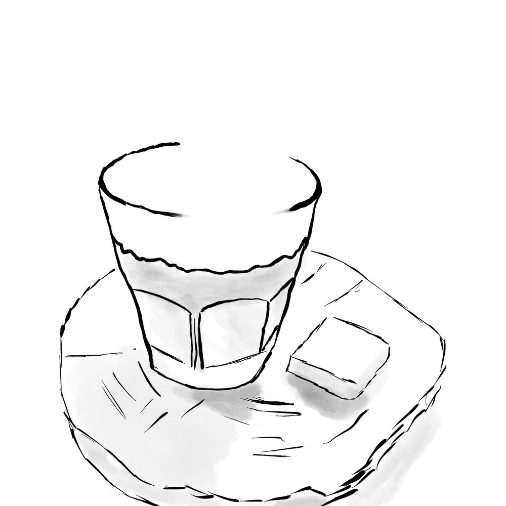 Sketching coffee - image 1 - student project