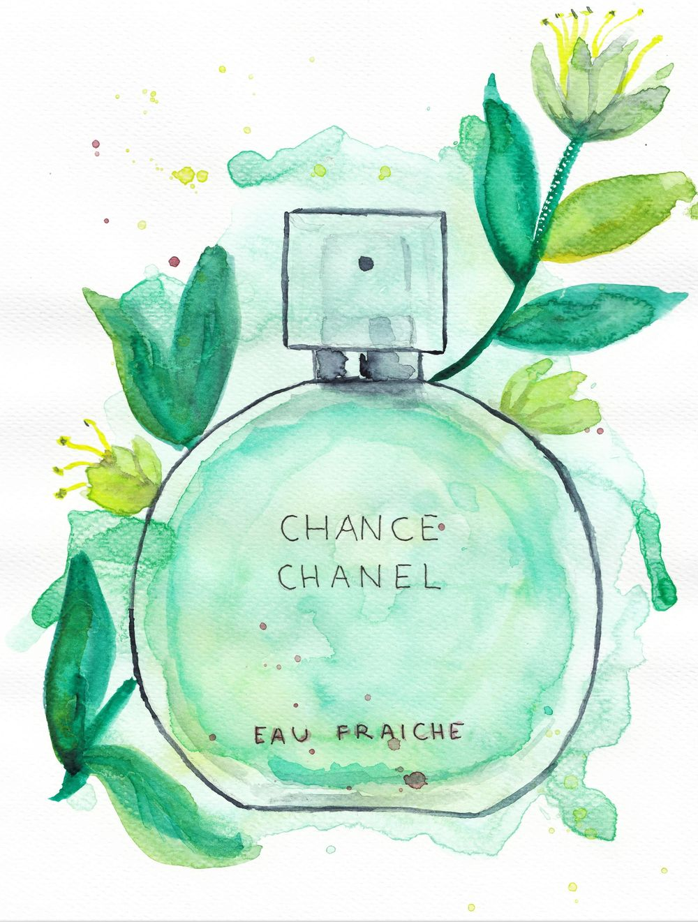 Perfumes featured in the class - image 2 - student project