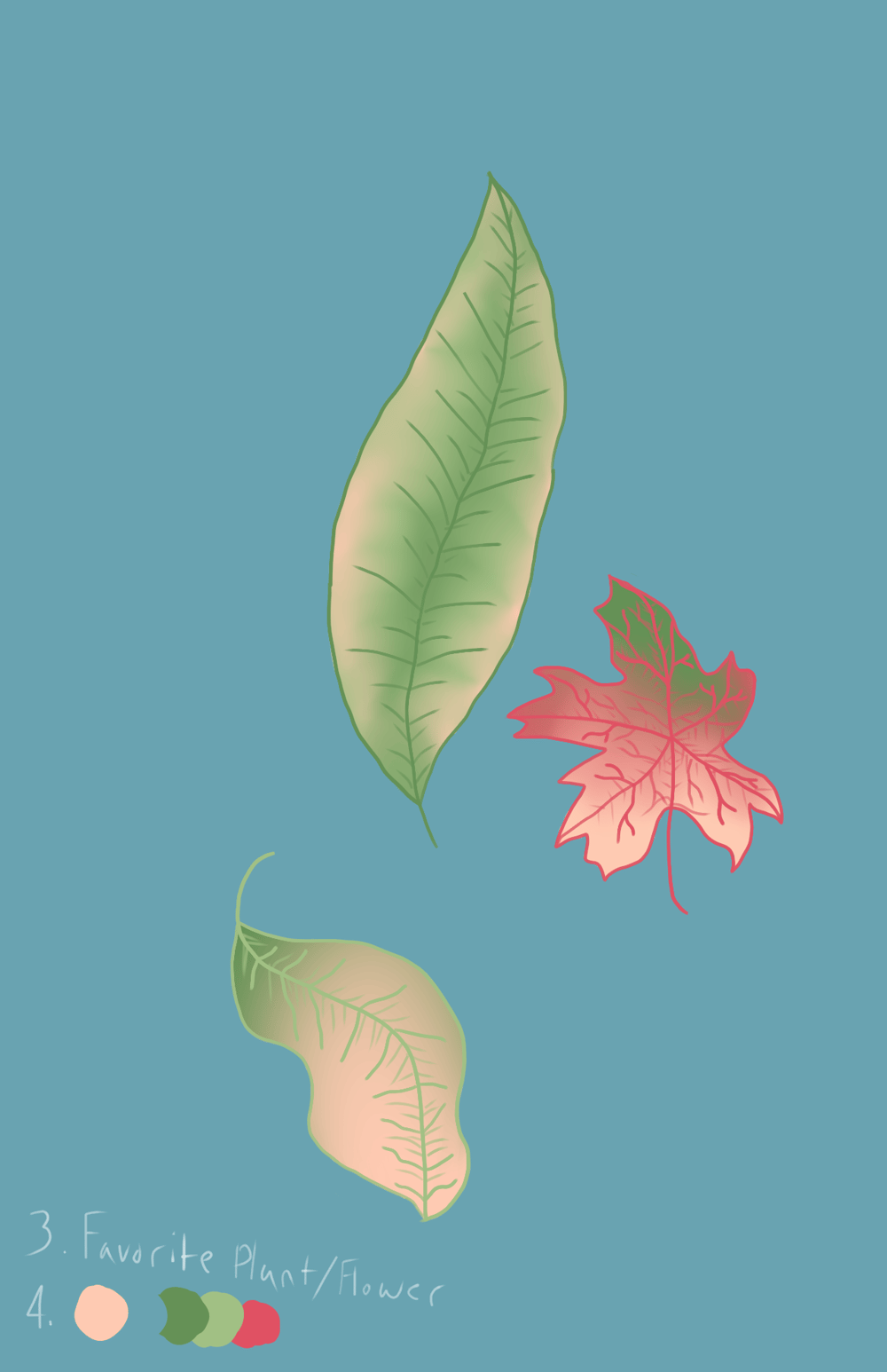 Dying Leaves - image 1 - student project
