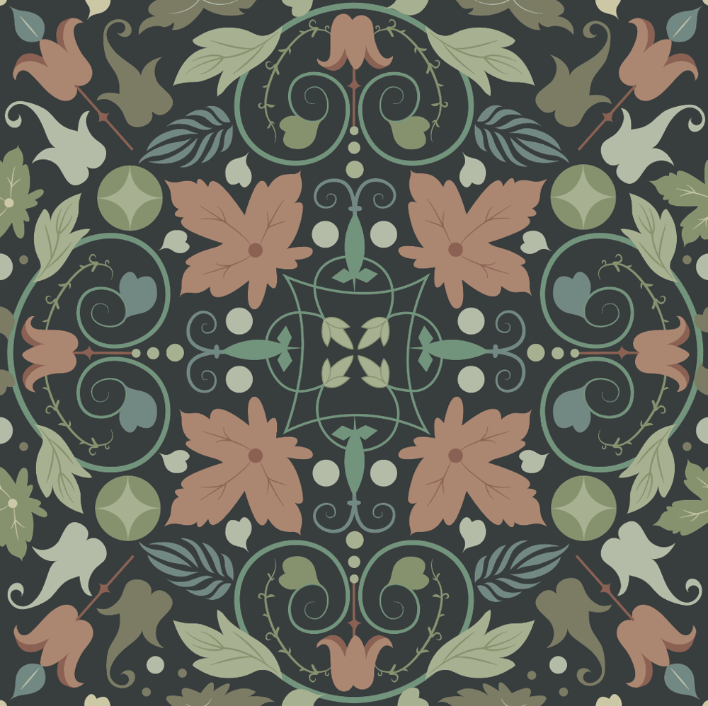 Florid Ornament - image 4 - student project