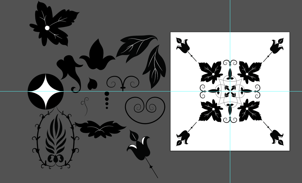 Florid Ornament - image 3 - student project