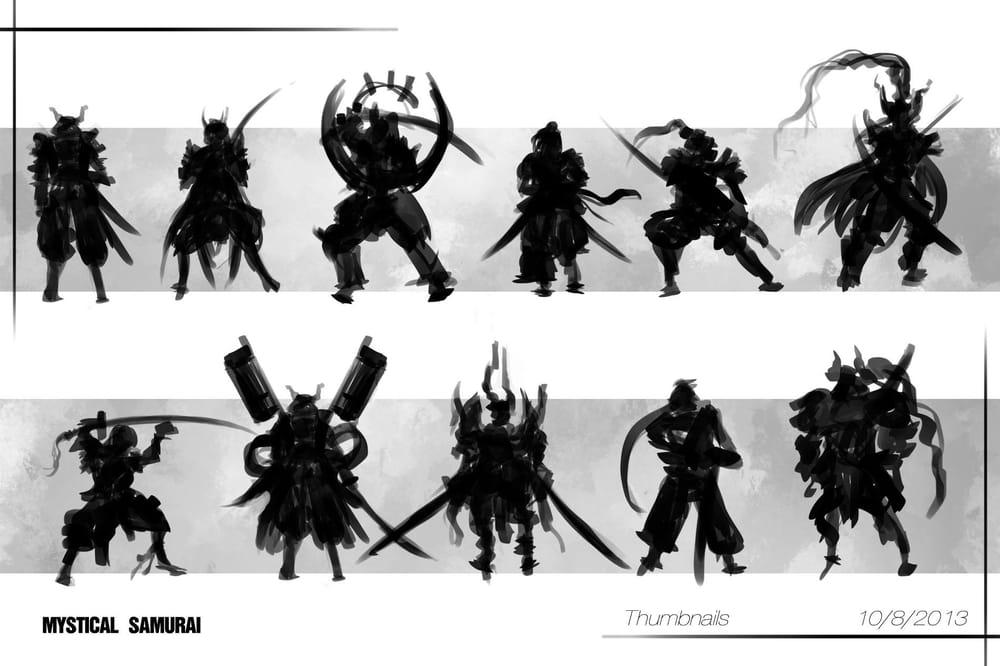 Mystical Samurai  - image 1 - student project