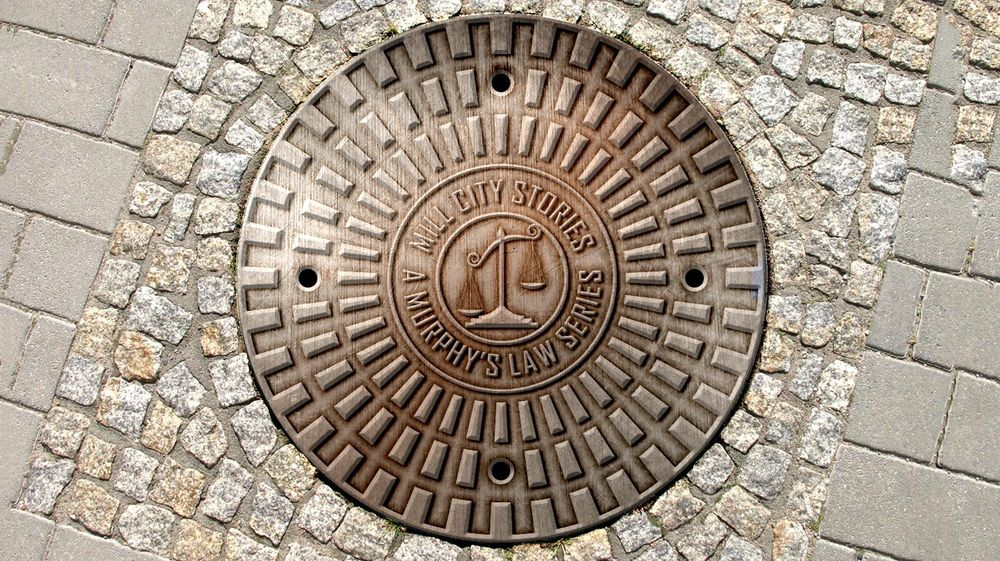 Mill City Stories Manhole Cover - image 1 - student project