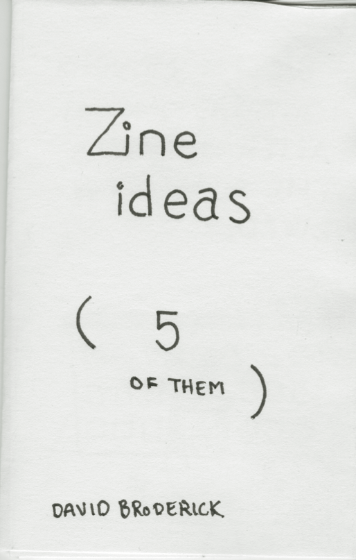 Personal Zine - image 1 - student project