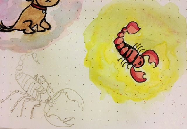 Doggy and scorpion :) - image 4 - student project