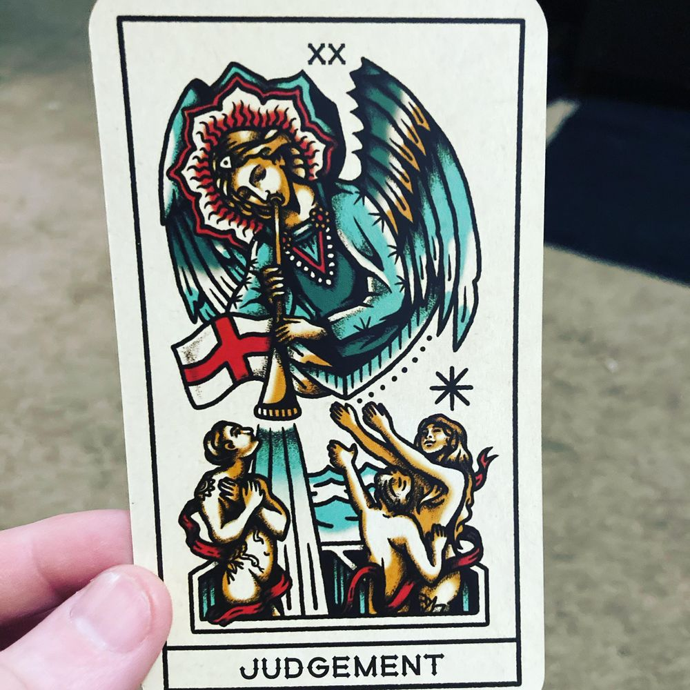 My Tarot Deck - image 1 - student project