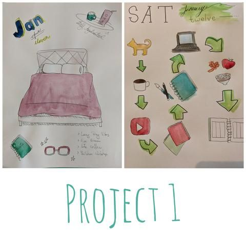 Project 1: Draw My Day - image 1 - student project