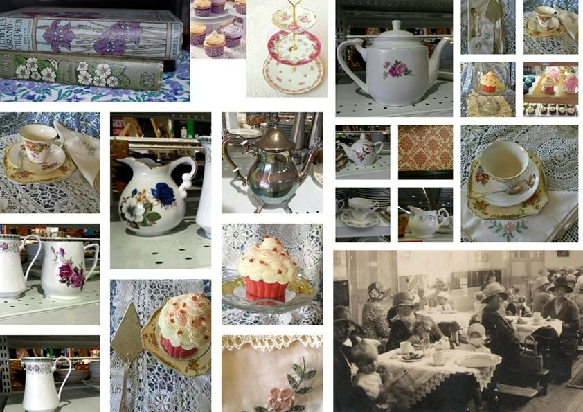 Vintage High Tea, Rockpool, Neptune's Garden - 3 Focal Print Workshop with Bonnie Christine - image 1 - student project