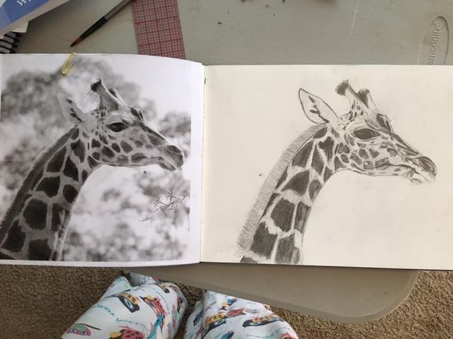 Giraffe - image 3 - student project