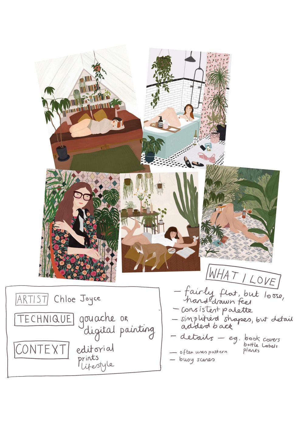 Tasha Goddard Style Class - image 7 - student project