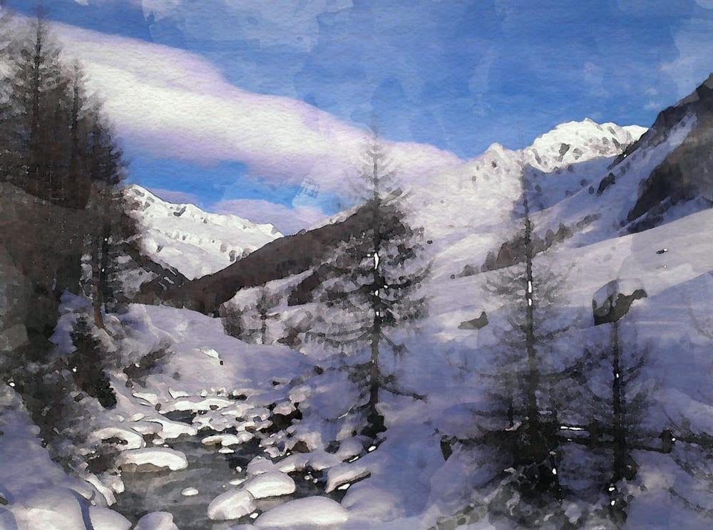 Winter - Spring Landscape - image 1 - student project