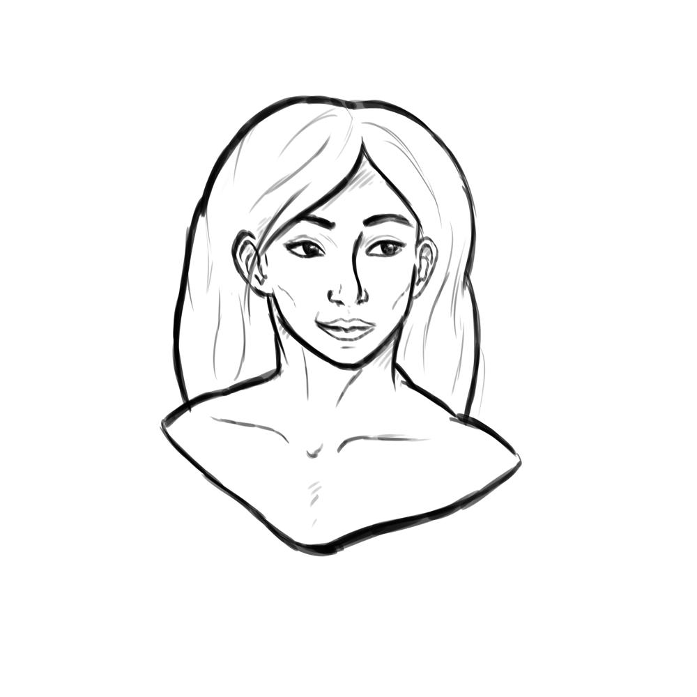 Girl Portrait - image 2 - student project
