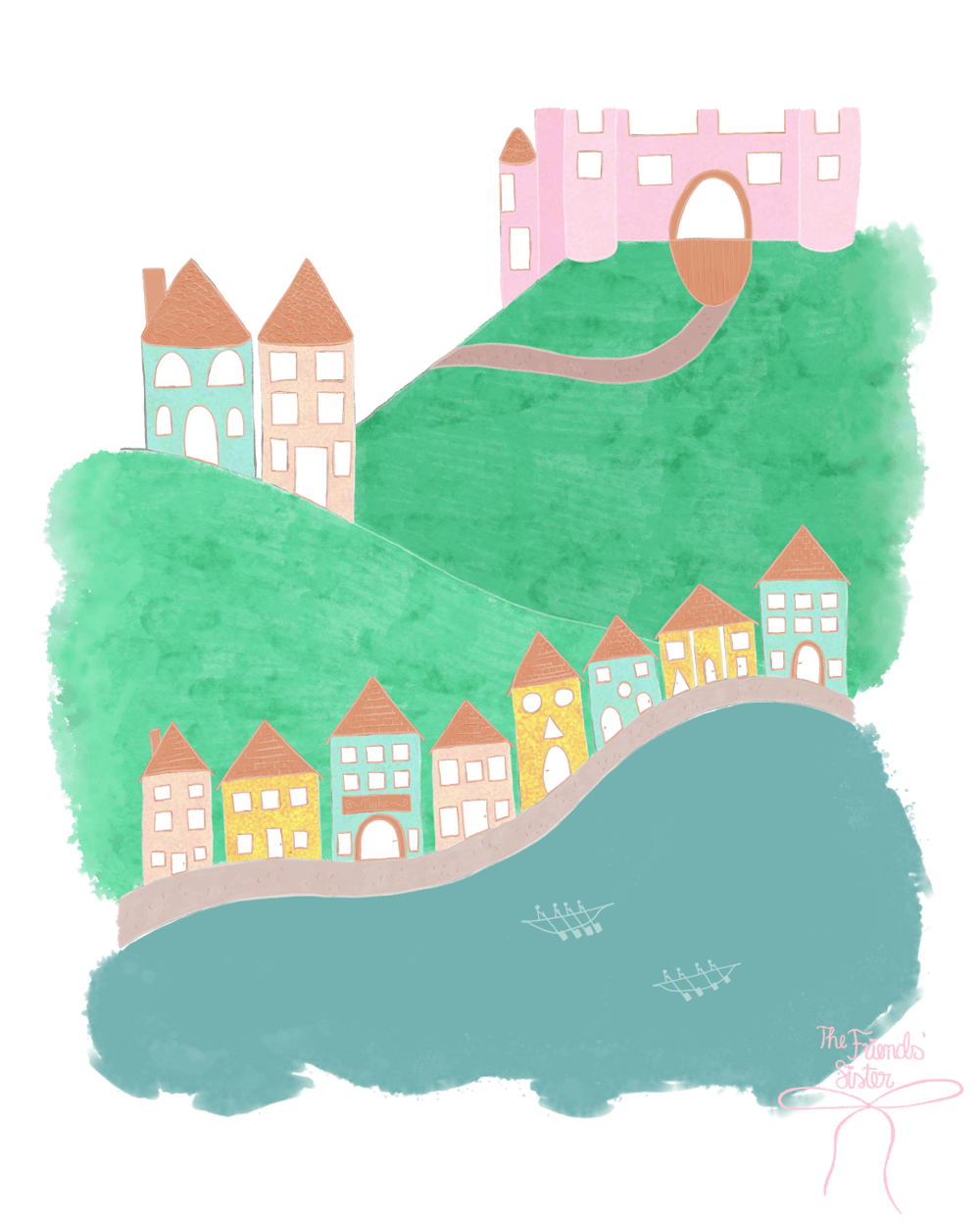 Storybook Illustration in Adobe Fresco - image 2 - student project