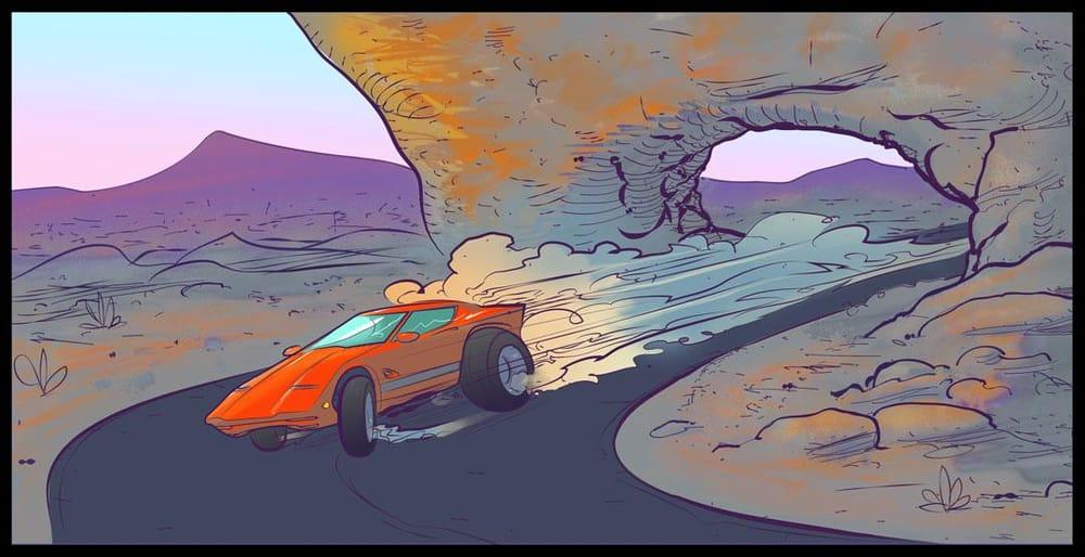 The Treacherous Desert Race... - image 1 - student project