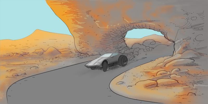 The Treacherous Desert Race... - image 2 - student project
