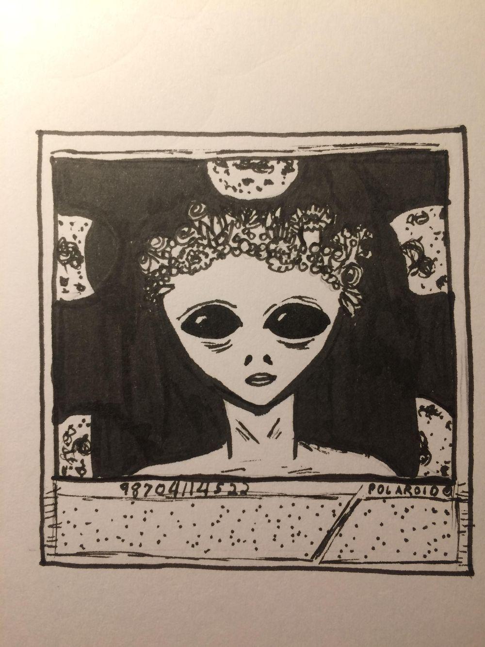 Alien Polaroid  - image 3 - student project