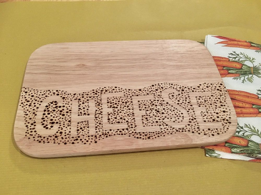 My Wood Burning Project - image 2 - student project