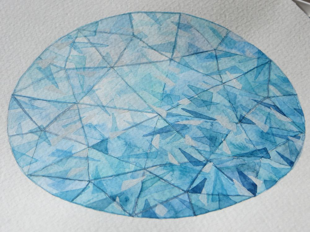 Watercolor Gems & Jewelry - 3rd Update - lots of practice ! - image 3 - student project