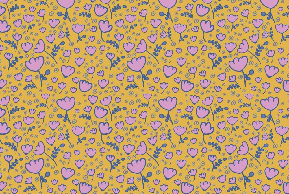 Floral patterns - image 4 - student project