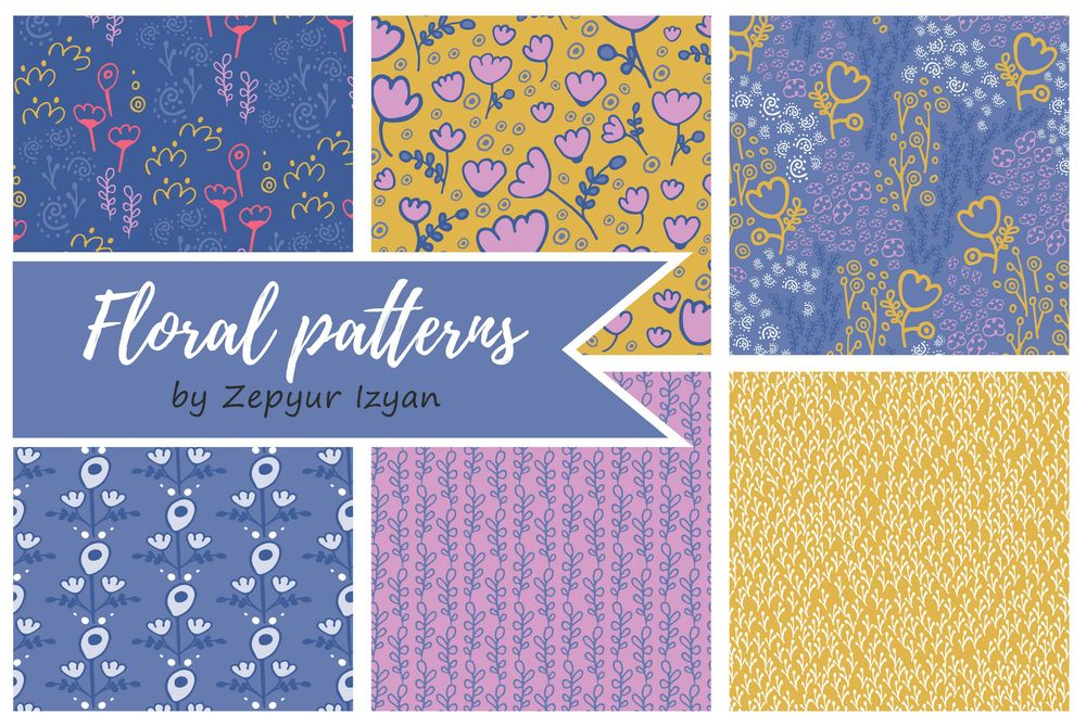 Floral patterns - image 2 - student project