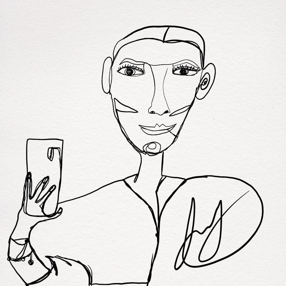 Selfi - image 1 - student project