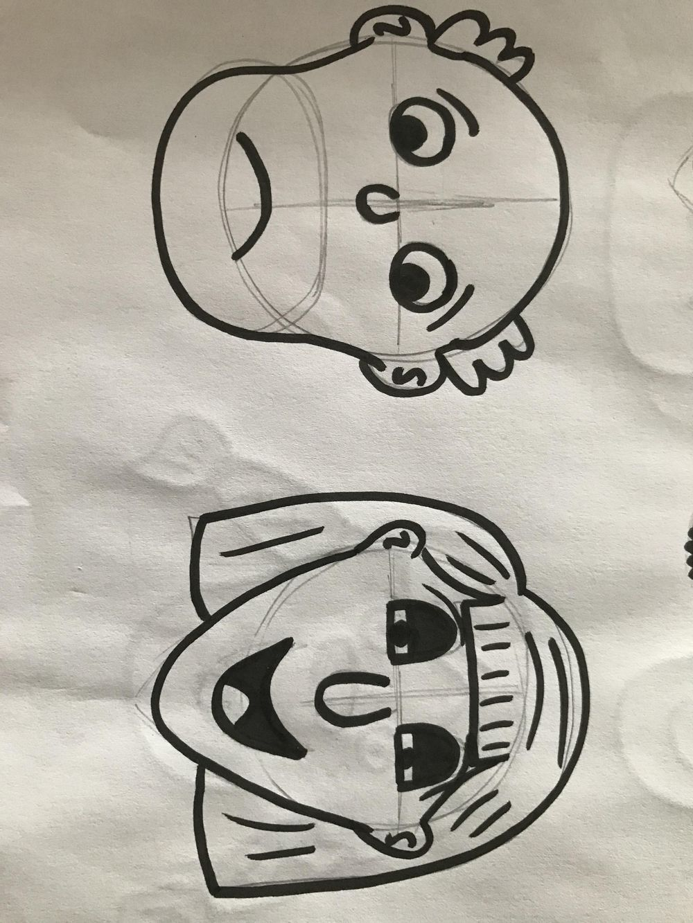 Cartooning, self portraits and stuff - image 6 - student project