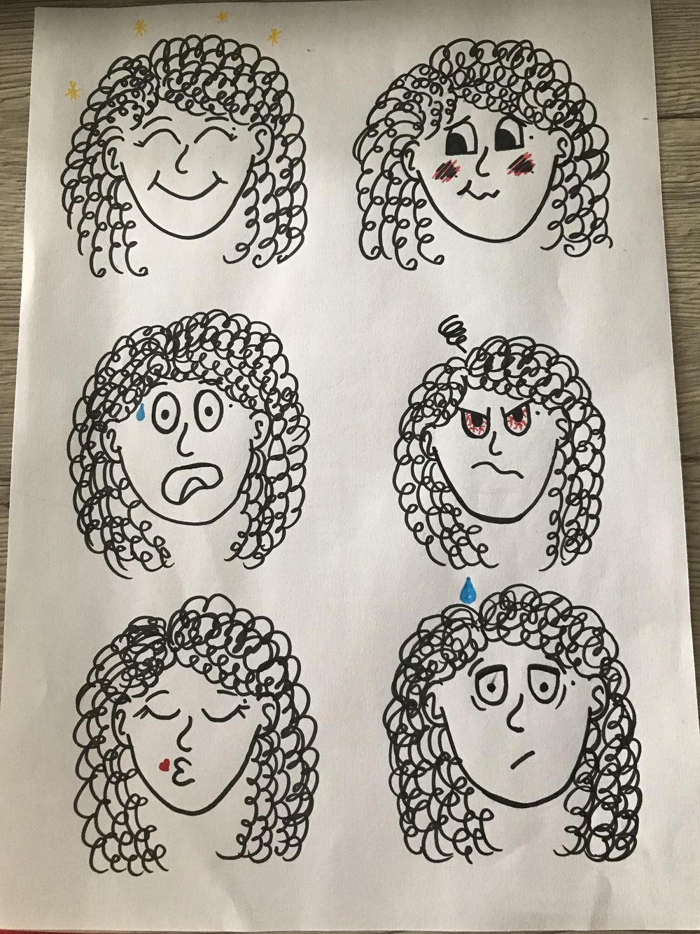 Cartooning, self portraits and stuff - image 2 - student project