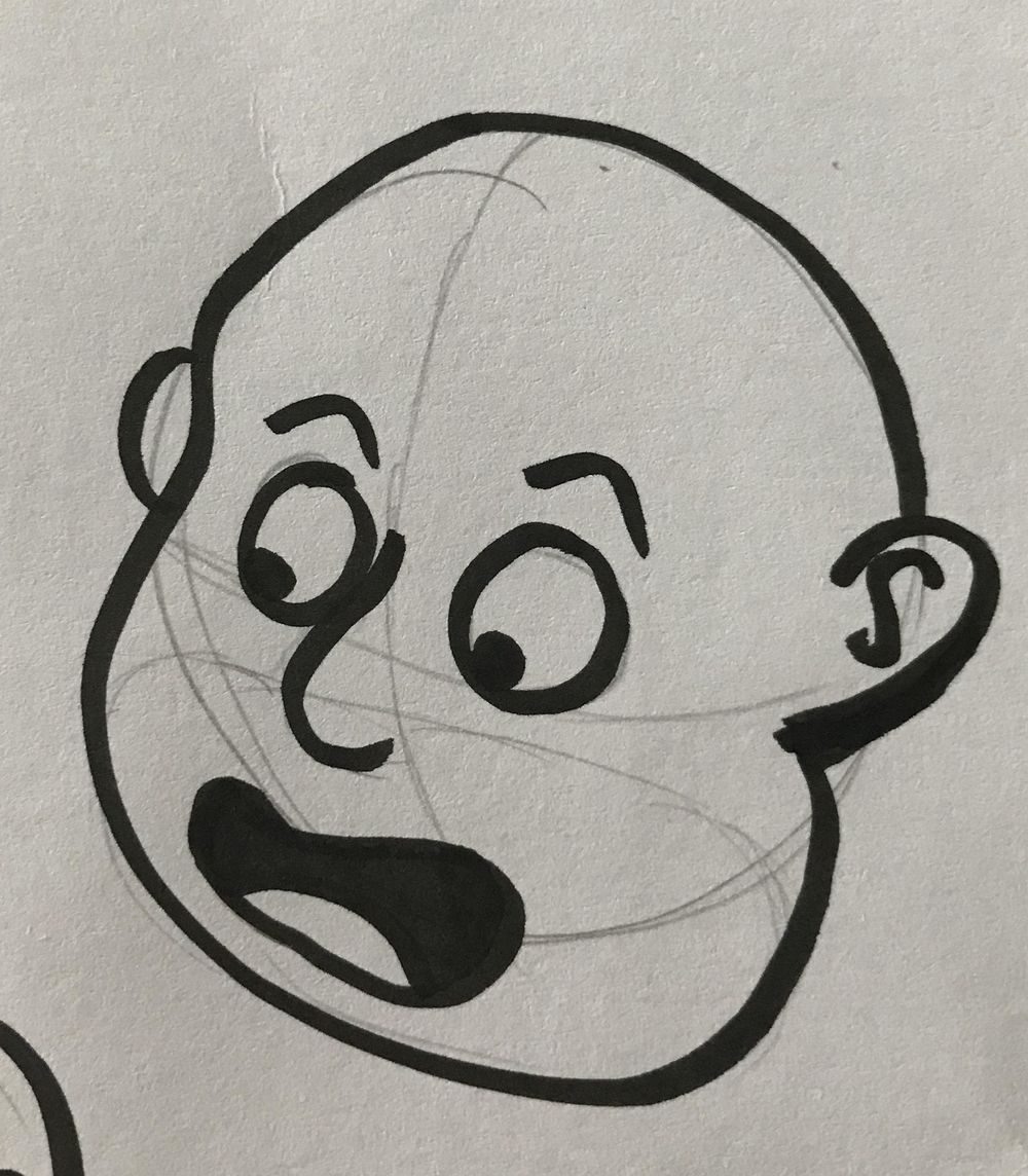 Cartooning, self portraits and stuff - image 3 - student project