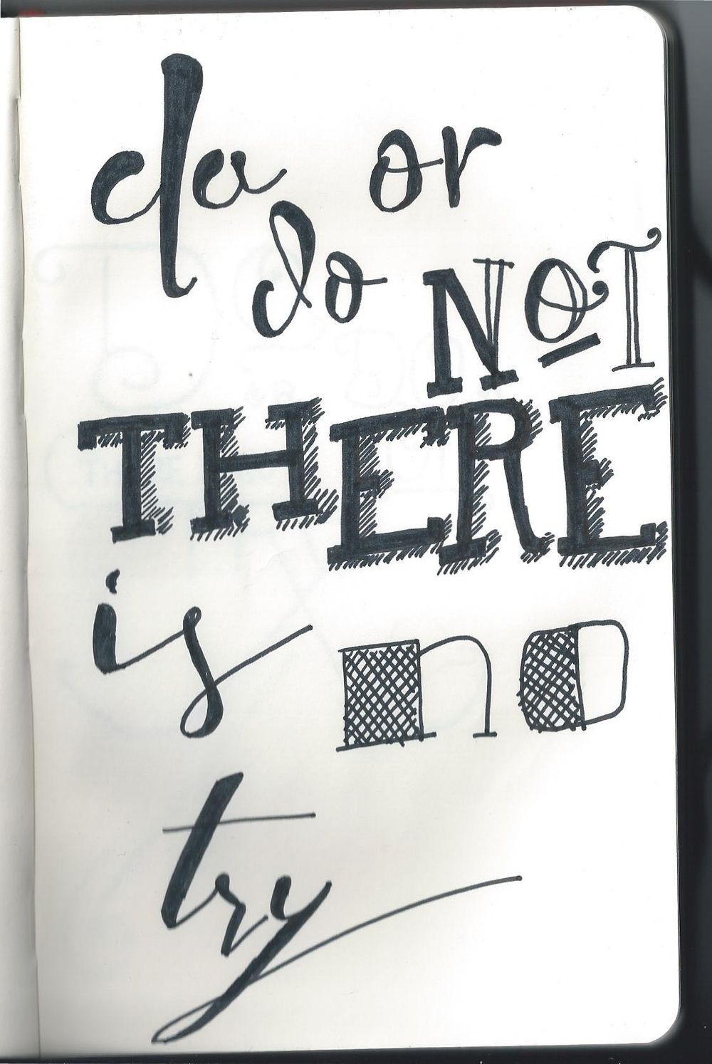 Do or do not, there is no try. - image 10 - student project