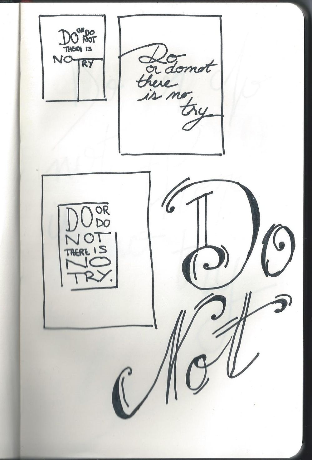 Do or do not, there is no try. - image 9 - student project
