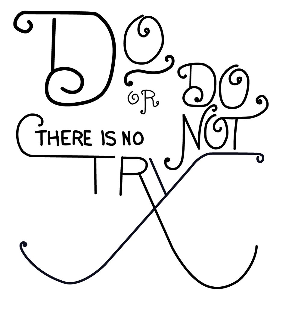 Do or do not, there is no try. - image 7 - student project