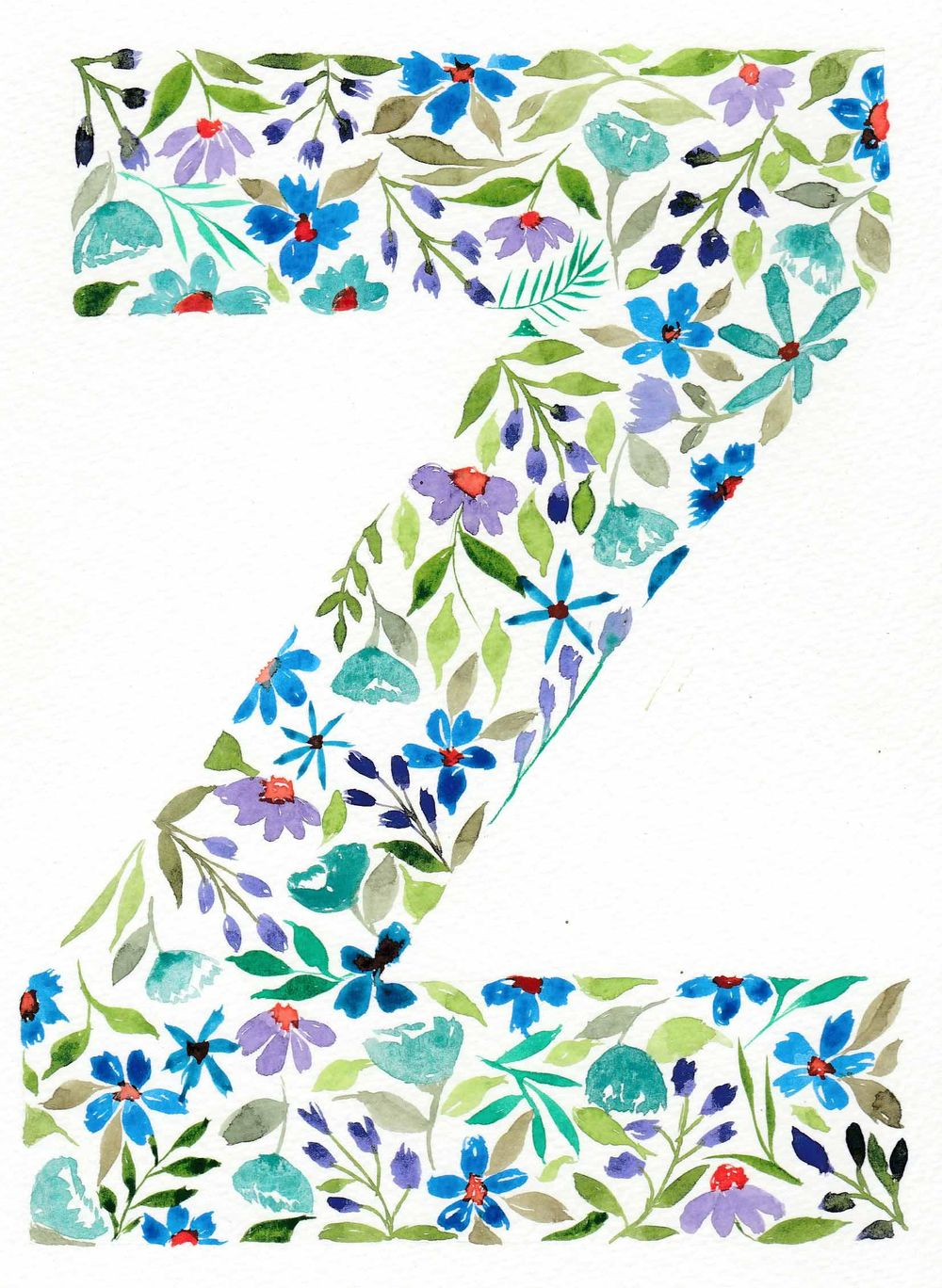 Letter Z - image 1 - student project
