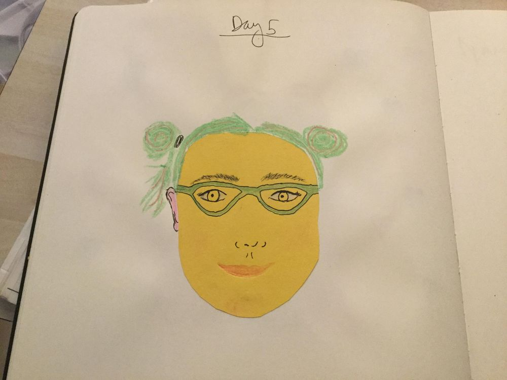 10 Days of Selfies - image 5 - student project