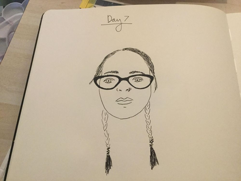 10 Days of Selfies - image 3 - student project