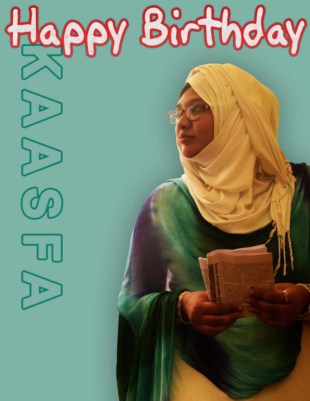 Happy Birthday Aunty - image 1 - student project