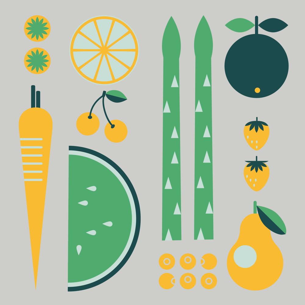 Fruit & Vegetables - image 2 - student project