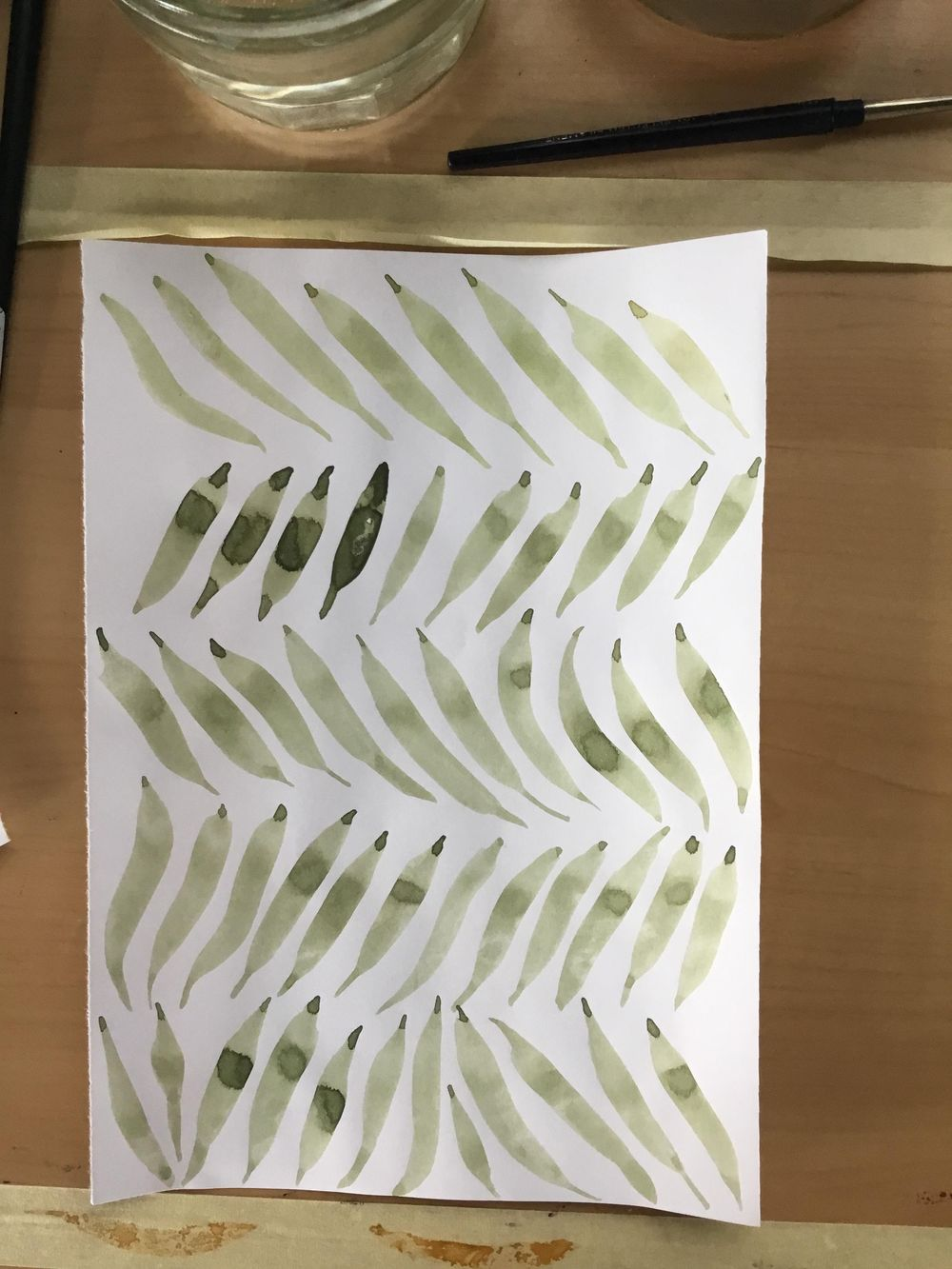 Watercolor workout - image 13 - student project