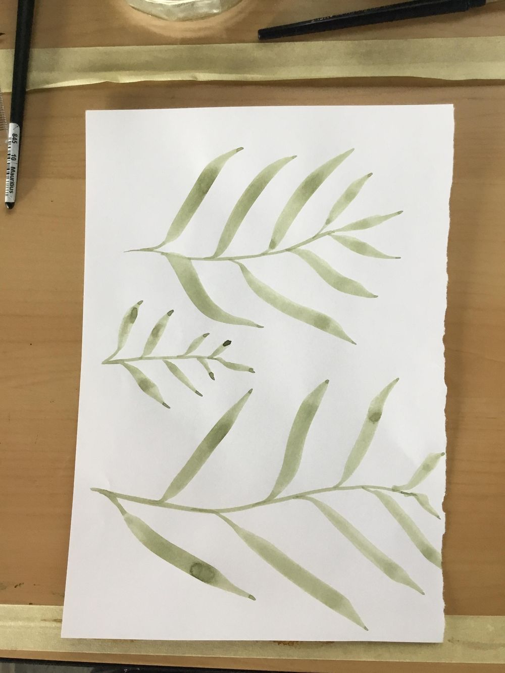 Watercolor workout - image 14 - student project