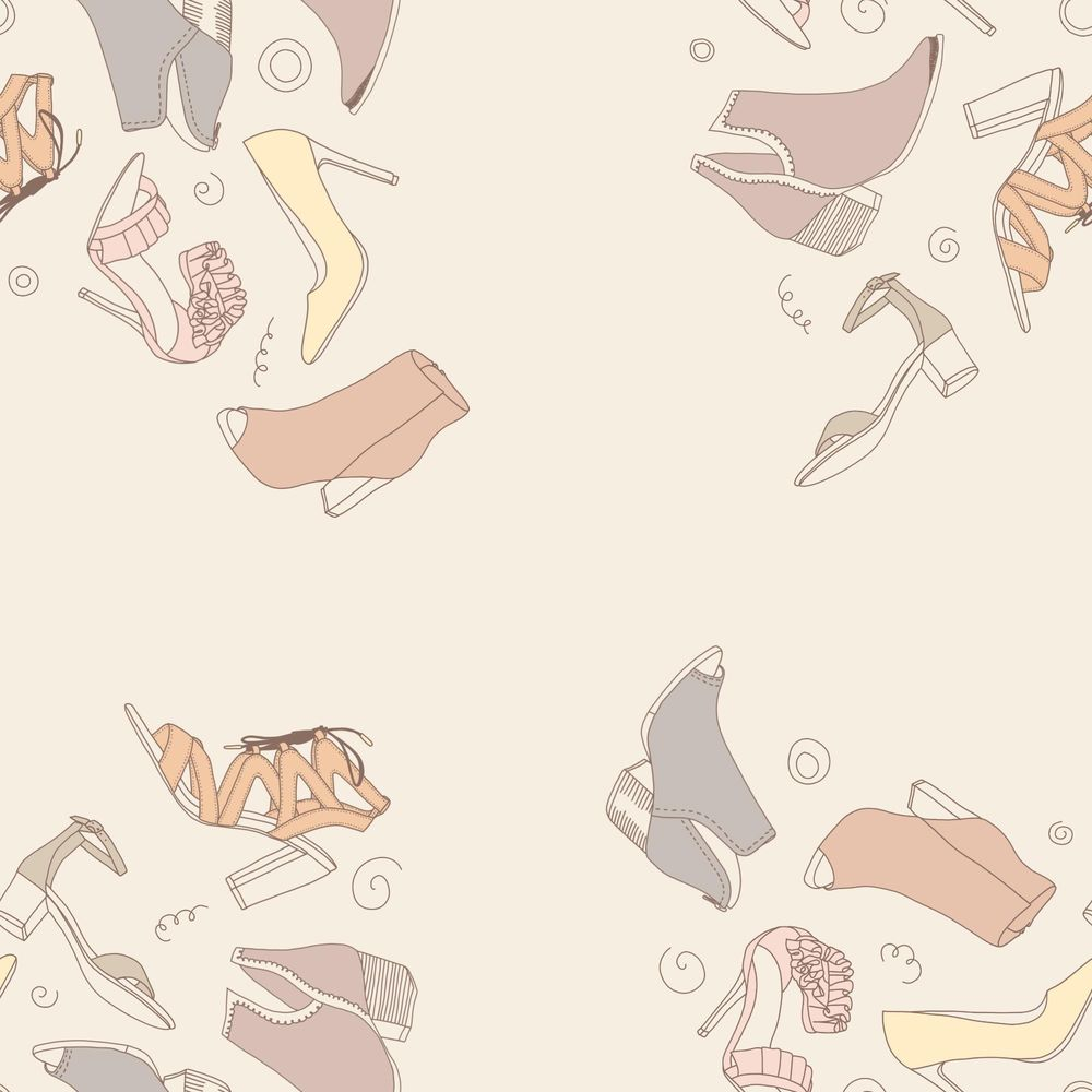 Shoe pattern - image 1 - student project