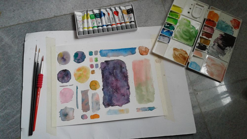 My Color Wheel, Mixing - image 3 - student project