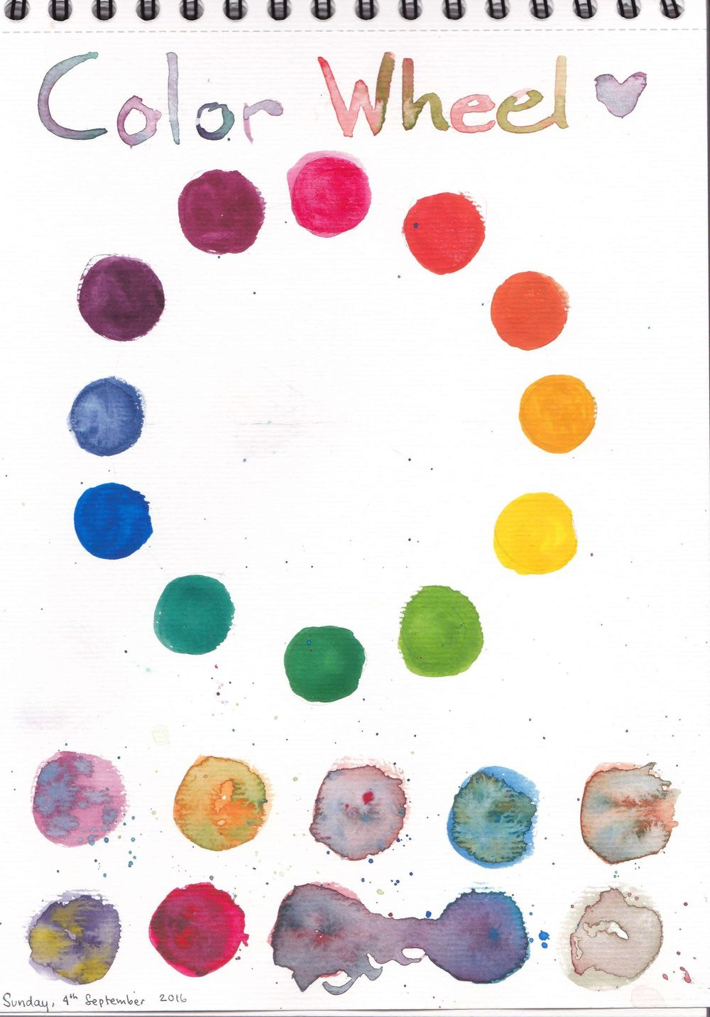 My Color Wheel, Mixing - image 2 - student project