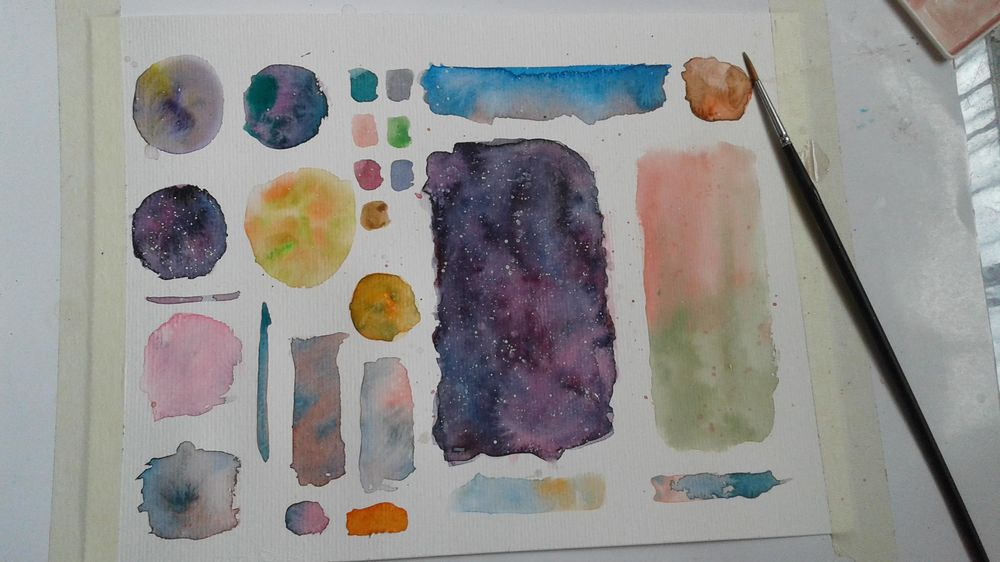 My Color Wheel, Mixing - image 4 - student project