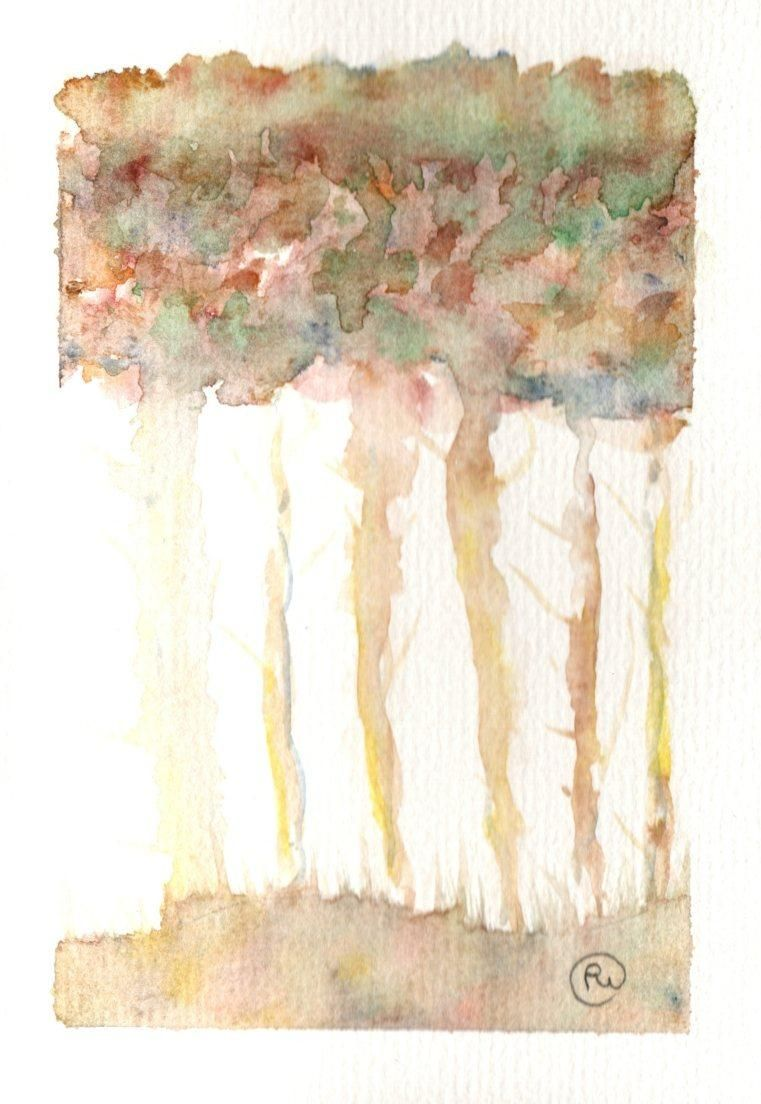 whimsical trees - image 1 - student project